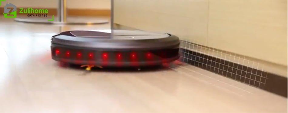 Ecovacs Deebot DT85G   Công nghệ cảm biến phát hiện chướng ngại vật