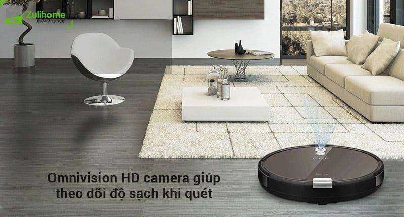 ILIFE X660 | Omnivision HD camera giúp theo dõi độ sạch khi quét