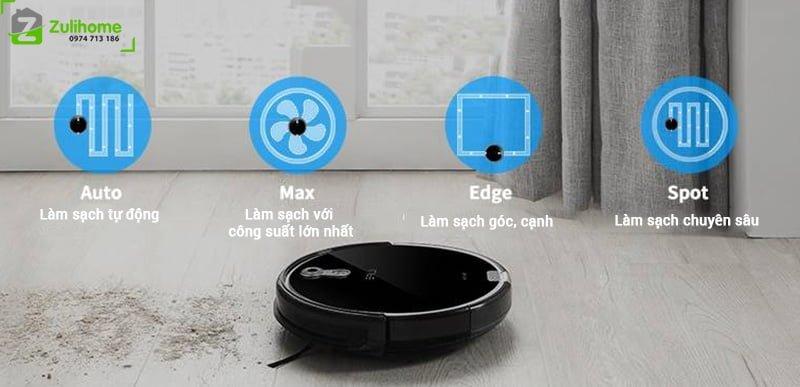 ILIFE X660 | Chế độ làm sạch đa dạng