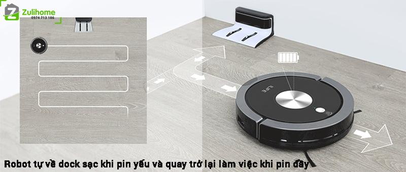 ILIFE X800 | Tự động quay về sạc khi pin yếu