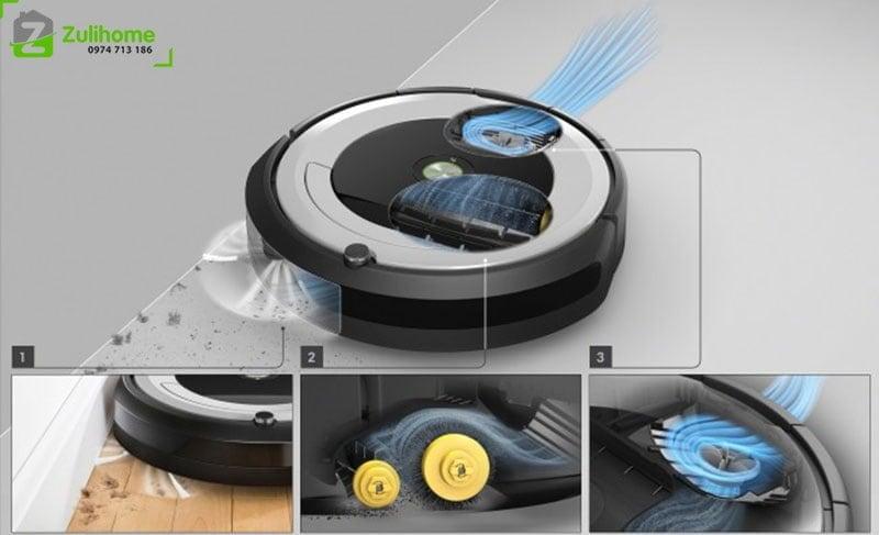 Irobot Roomba 694 | Công nghệ AreoVac
