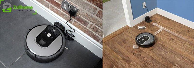 Irobot Roomba 960 | Tự quay về sạc khi pin yếu