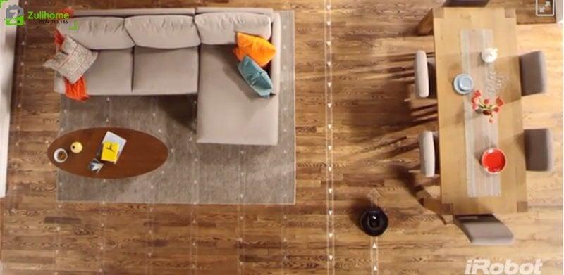 Irobot Roomba 960 | Công nghệ phát hiện bụi bẩn