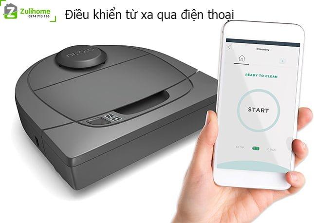 Neato Botvac D3 Connected | Điều khiển từ xa qua điện thoại