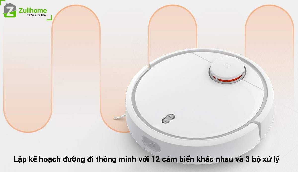 Xiaomi Mi Vacuum có công nghệ điều hướng di chuyển thông minh