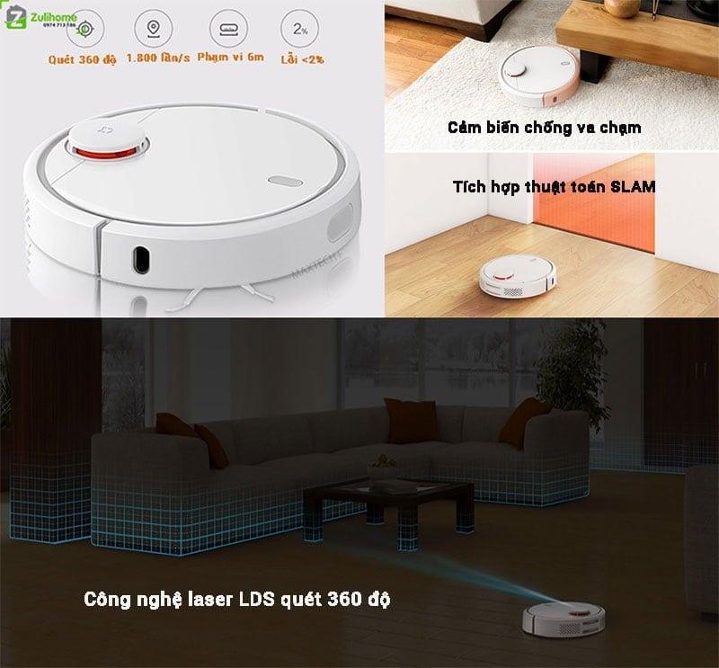 Xiaomi Mi Vacuum có công nghệ cảm biến nâng cao