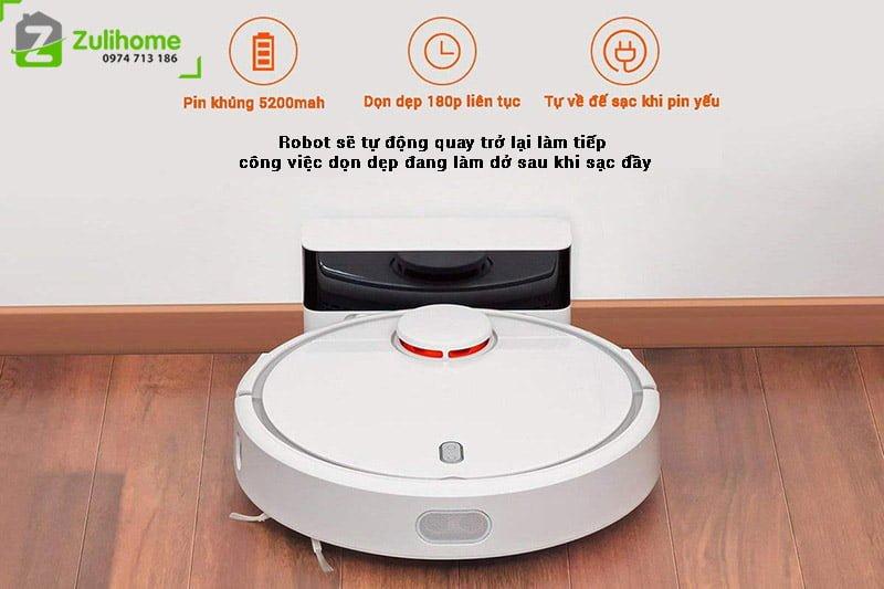 Xiaomi Mi Vacuum tự quay về sạc khi pin yếu