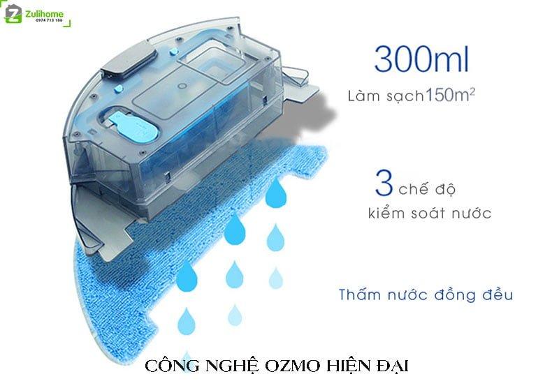Ecovacs Deebot DF45 tích hợp công nghệ ozmo hiện đại