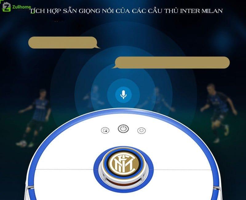Xiaomi Roborock S52 tích hợp giọng nói của cầu thủ Inter Milan