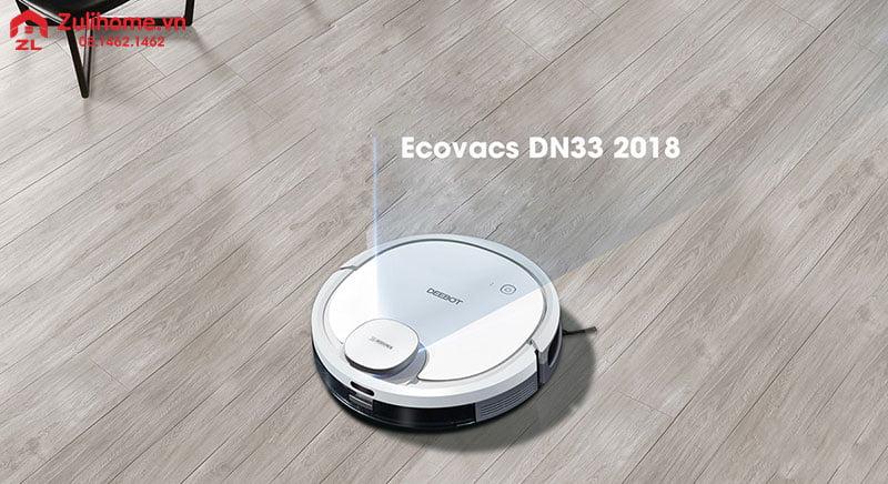 Ecovacs Deebot DN33   Thiết kế tinh tế và sang trọng