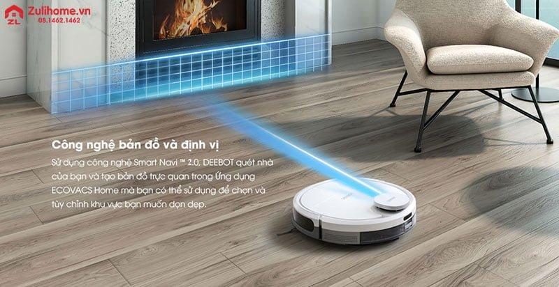 Ecovacs Deebot DN33   Hệ thống điều hướng thông minh