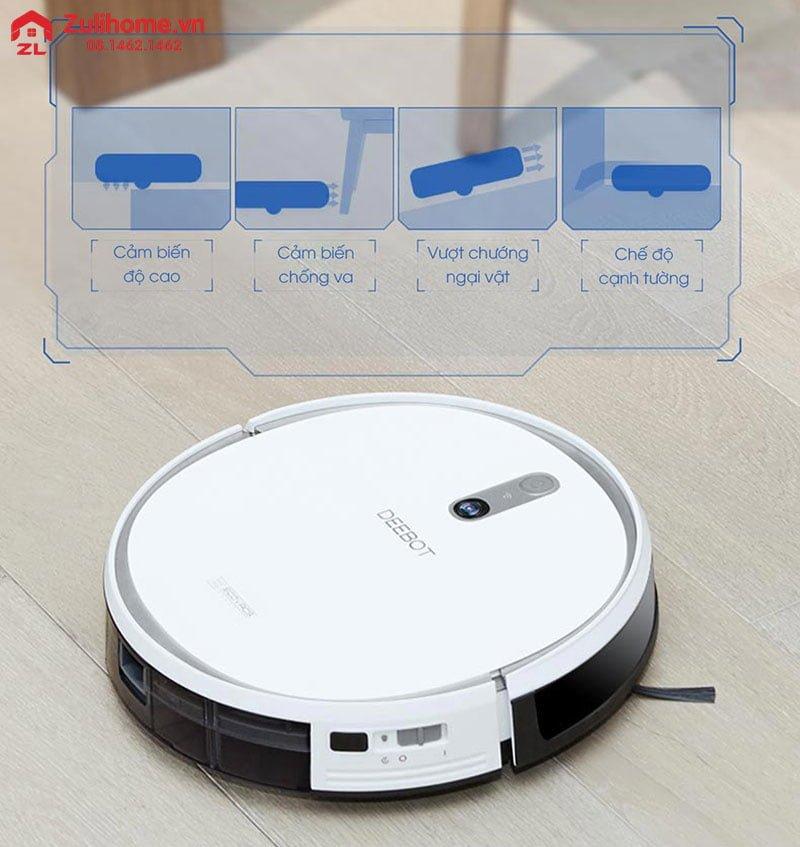 Ecovacs Deebot DS43 | Công nghệ cảm biến