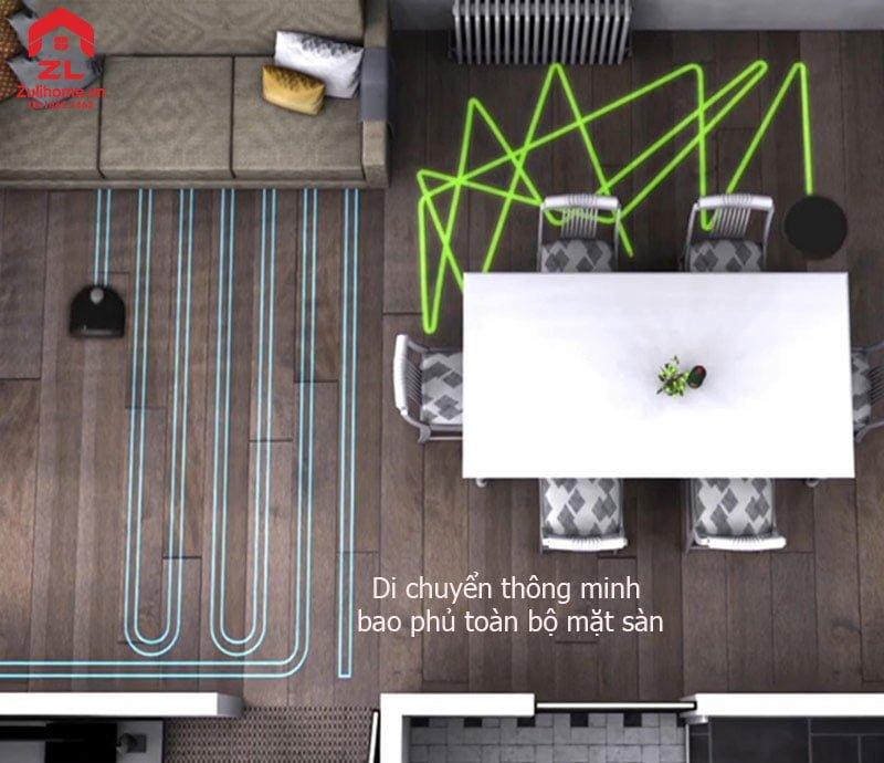 Neato Botvac D5 Connected | Di chuyển thông minh bao phủ toàn mặt sàn