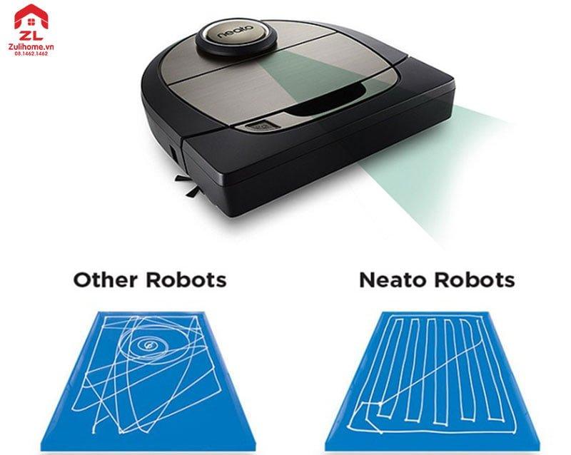 Neato Botvac D7 Connected   Di chuyển thông minh