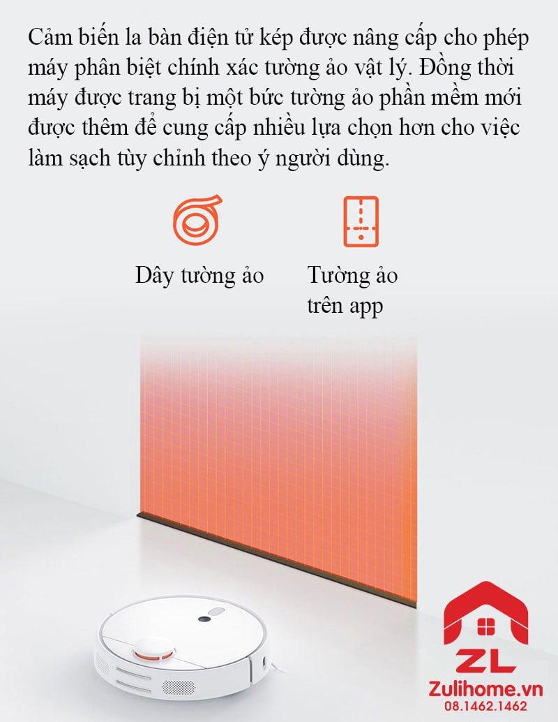Xiaomi mi robot vacuum 1s - model 2019 | Cảm biến nâng cao