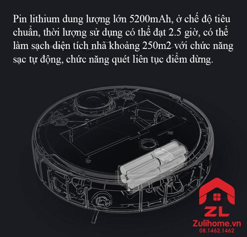 Xiaomi mi robot vacuum 1s - model 2019 | Dung lượng pin lớn
