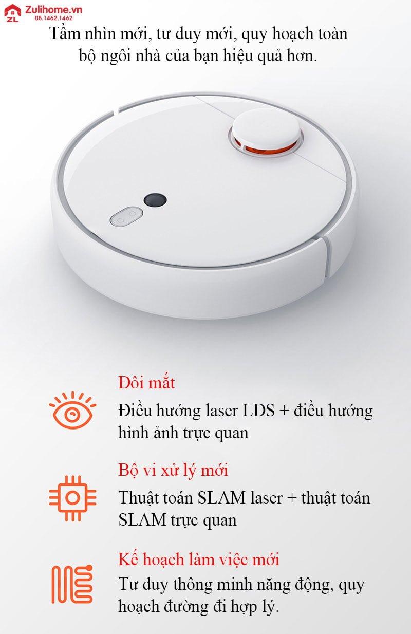 Xiaomi mi robot vacuum 1s - model 2019 | Công nghệ hàng đầu