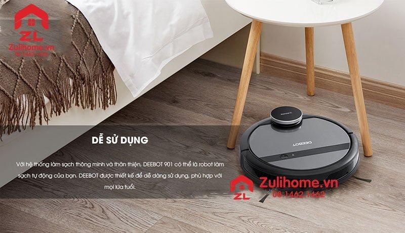 Ecovacs Deebot DE53 có thiết kế tinh tế và sang trọng