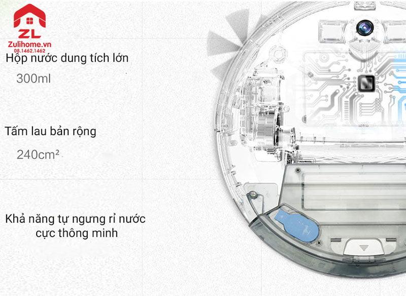 Ecovacs Deebot DL35 | Hộp nước dung tích lớn