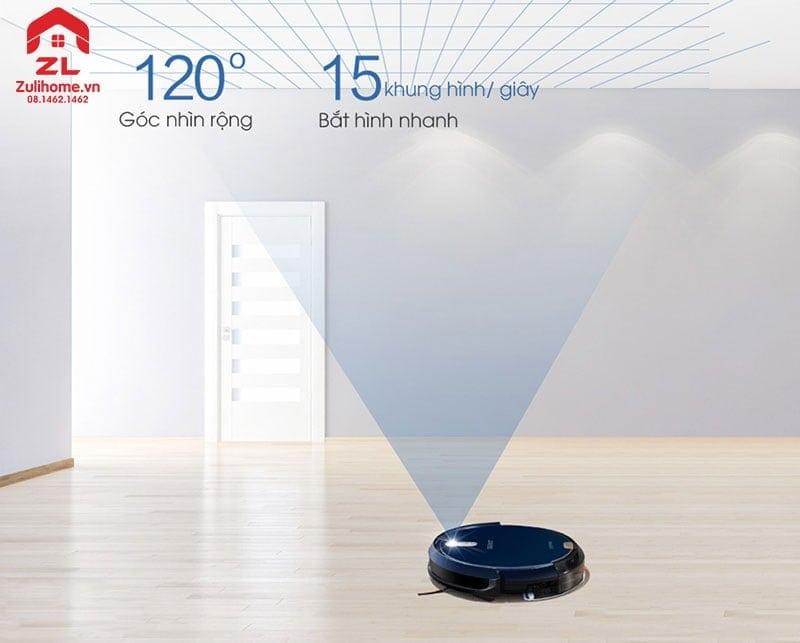 Ecovacs Deebot DL35 | Camera quét laser góc nhìn rộng