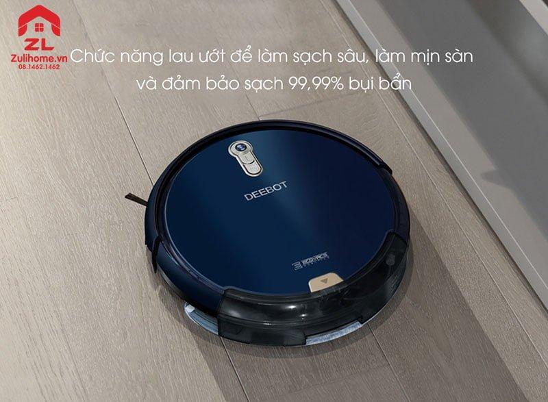 Ecovacs Deebot DL35 | Chức năng lau ướt làm sạch sâu