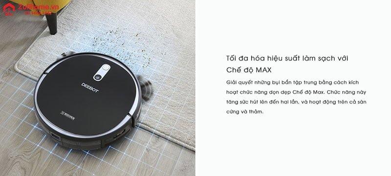 Ecovacs Deebot DS35 | Làm sạch mọi loại bụi bẩn