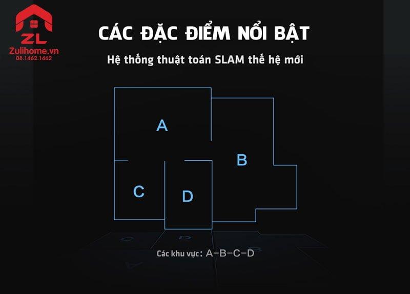 Ecovacs Deebot T5 Hero   Thuật toán Slam