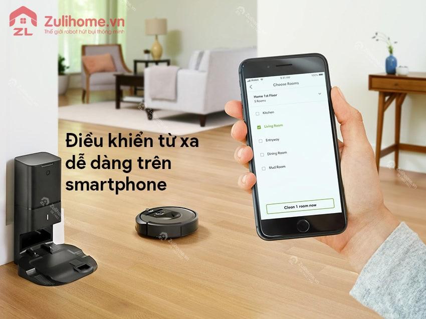 Irobot Roomba 961 | Điều khiển từ xa qua smartphone