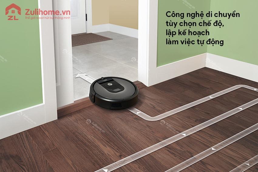 Irobot Roomba 961 | Công nghệ di chuyển thông minh