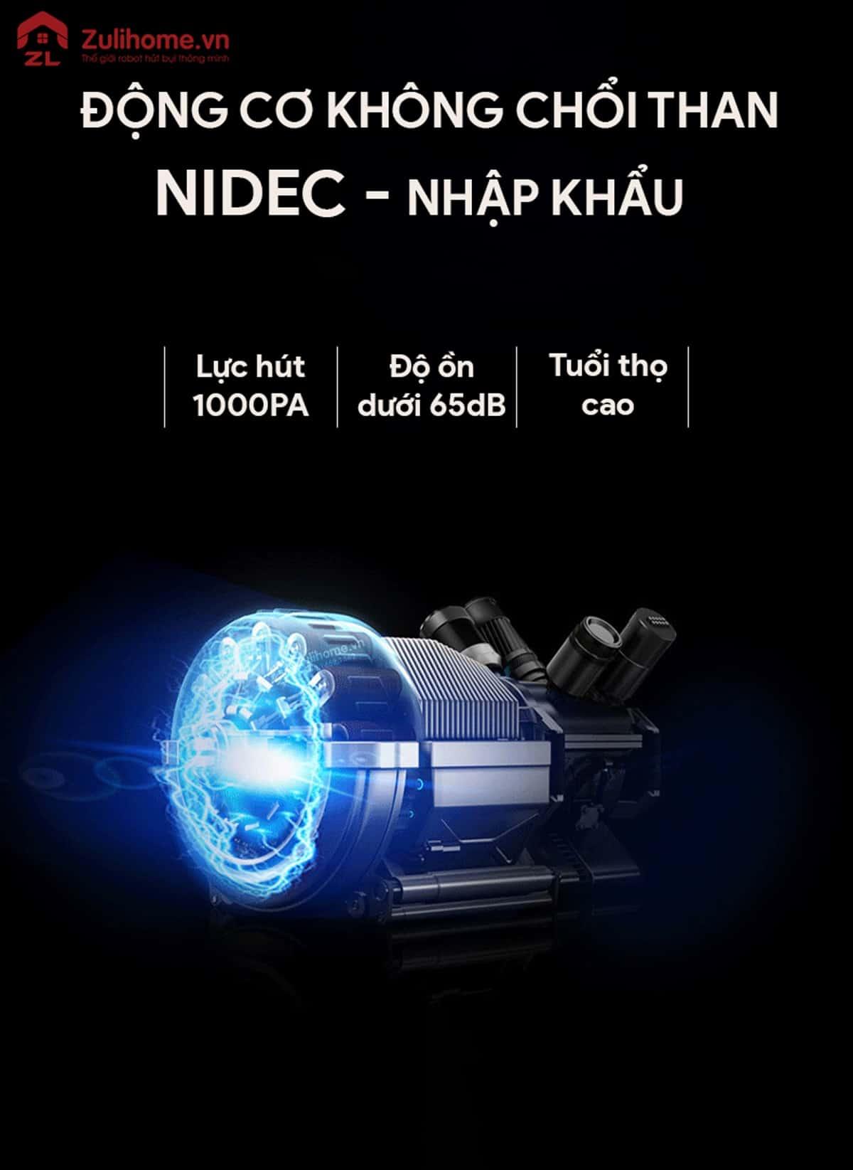 ILIFE X661 | Động cơ không chổi than