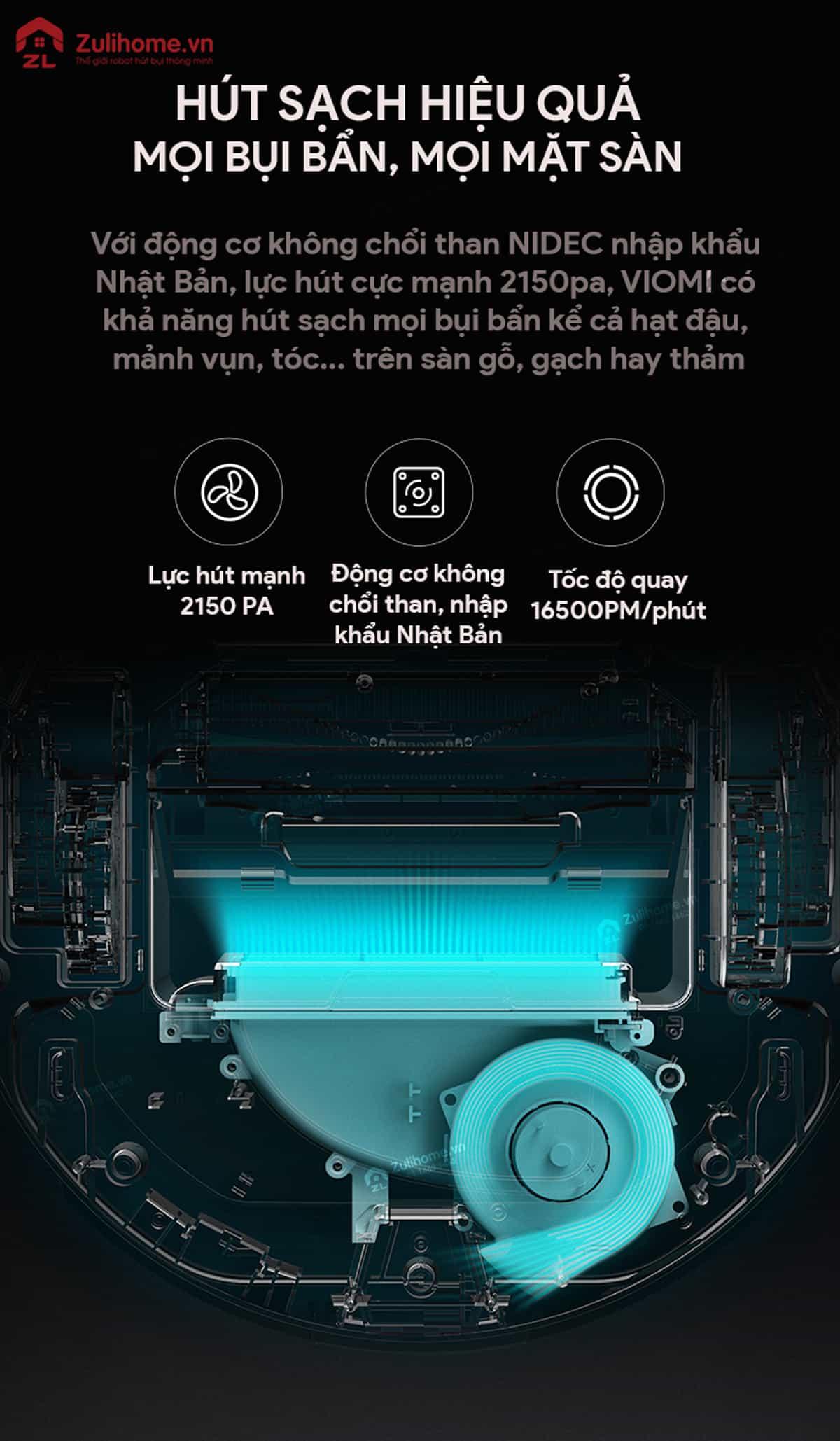 Xiaomi Viomi Yunmi có lực hút mạnh mẽ