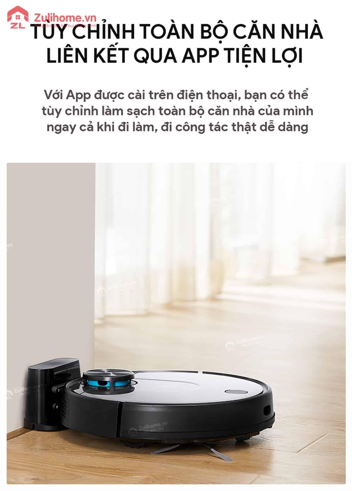 Xiaomi Viomi Yunmi được điều khiển qua app