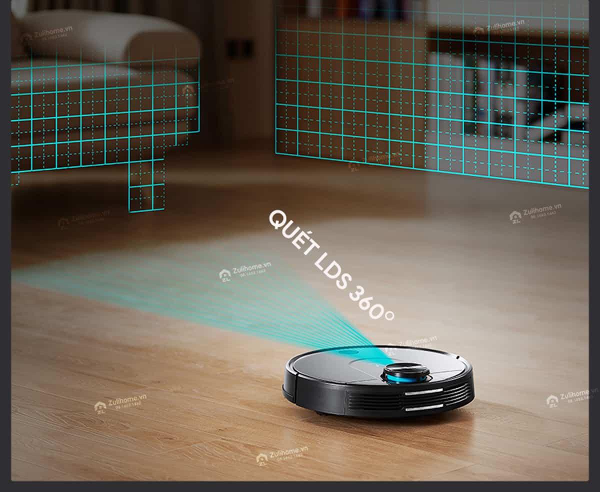 Xiaomi Viomi Yunmi quét LDS 360 độ