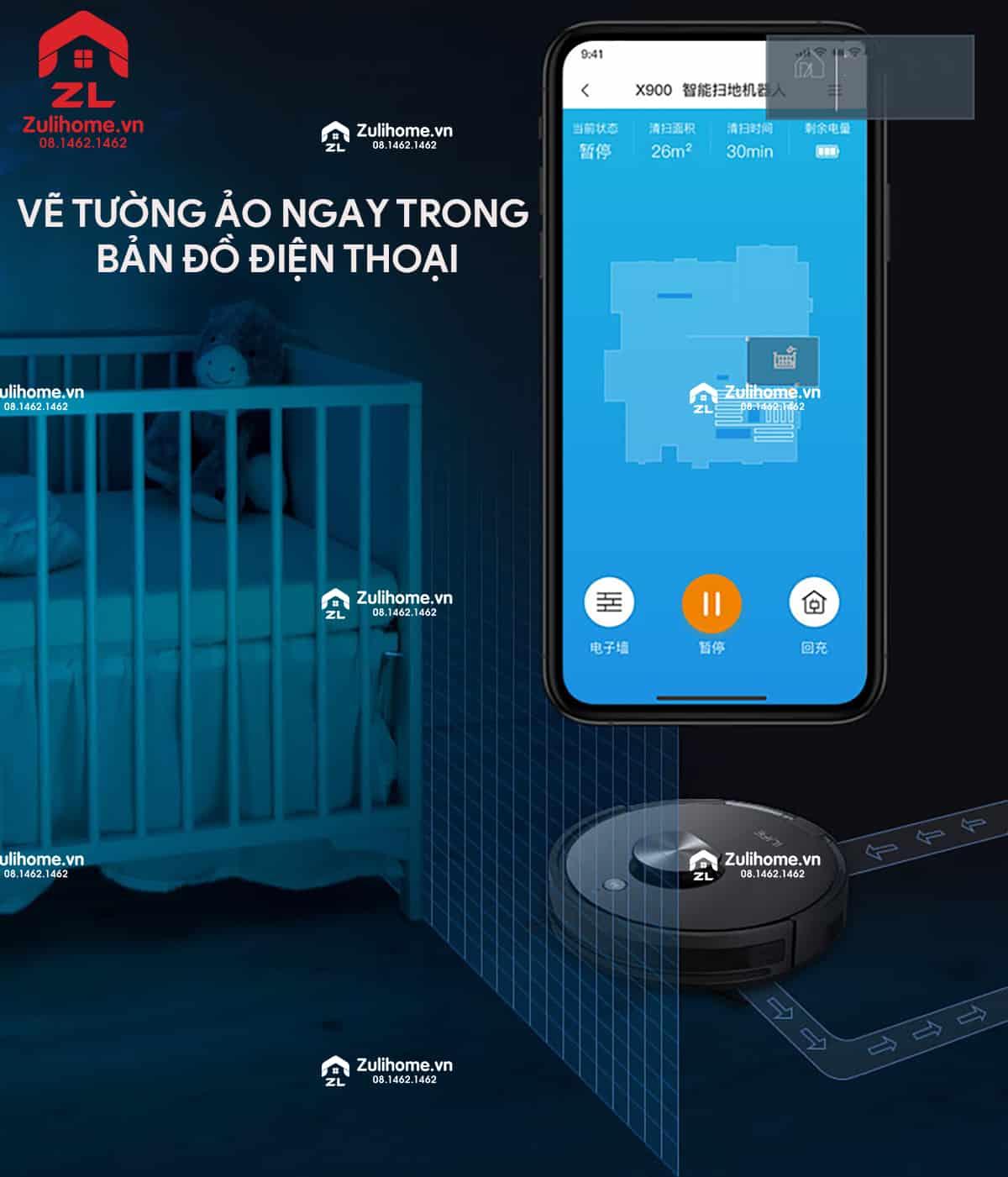 ILIFE X900 | Vẽ tường ảo ngay trong điện thoại