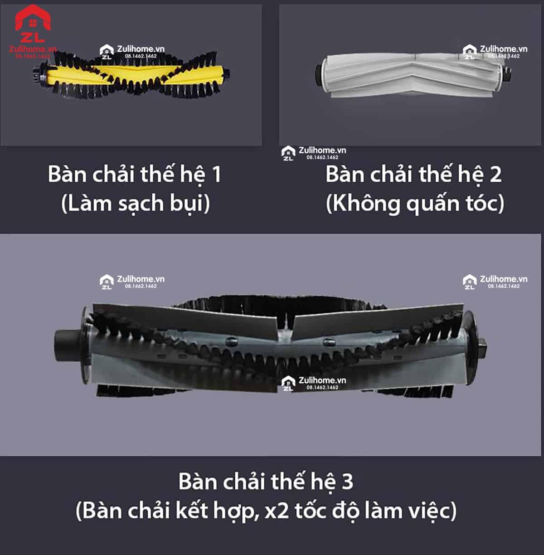 ILIFE X900 | Nâng cấp bàn chải làm sạch