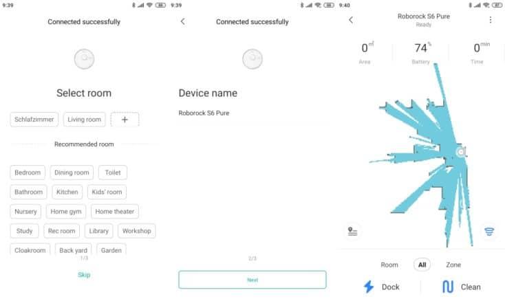 Roborock S6 Pure Vacuum Robot Cleaner Xiaomi Home App Wifi Connection 734x435 1 Tháng Sáu 1st, 2020