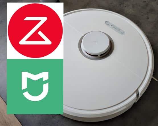 Có thể thoải mái sử dụng cả ứng dụng Roborock và Mi Home trên S6 Pure.